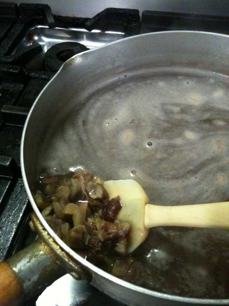 栗の渋皮煮の寒天ゼリーなうです