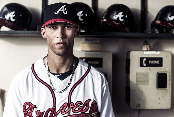 Photo of the Day via @BravesPhoto and the Braves souvenir program.  Welcome to the Bigs Andrelton Simmons!