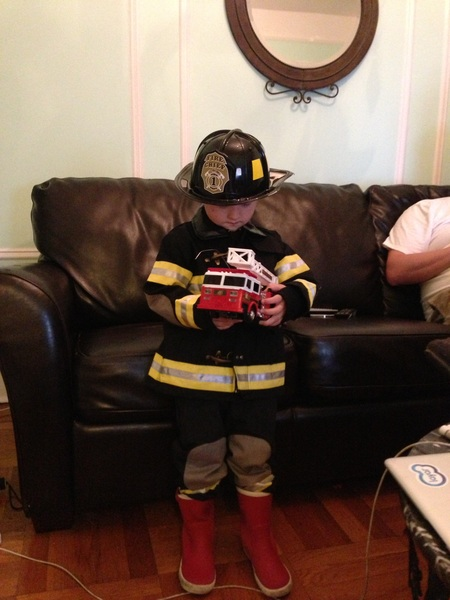 Fletcher of the day: Halloween costume preview