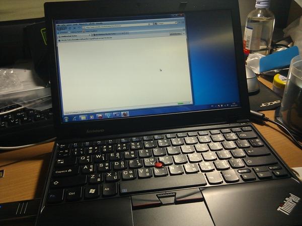 ในที่สุดก็ได้โน้ตบุ๊ก (หรือเน็ตบุ๊ก?) สักที เป็น ThinkPad X100e