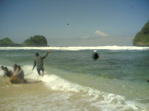 at pantai gua china :p