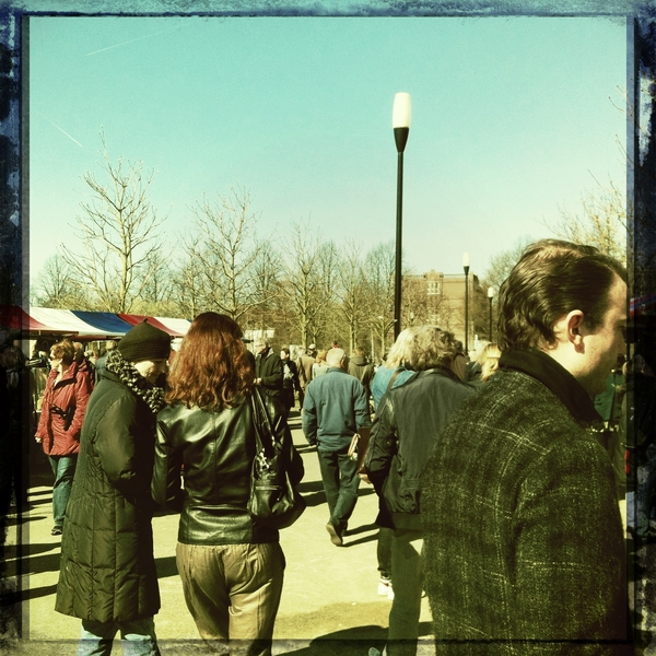 Beautiful day at the puremarket!