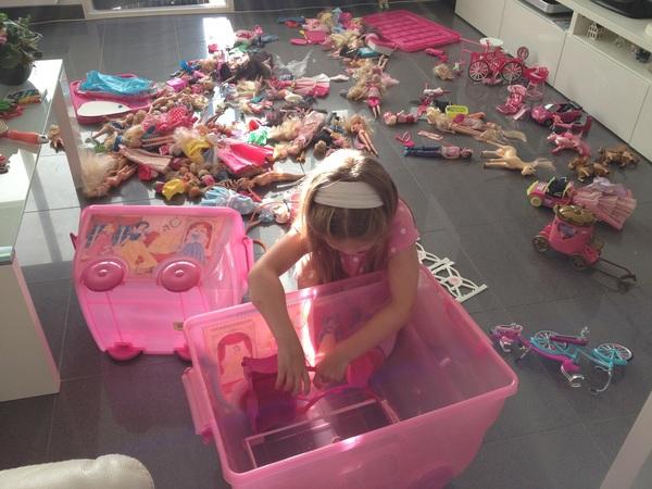 Barbie-bom ontploft