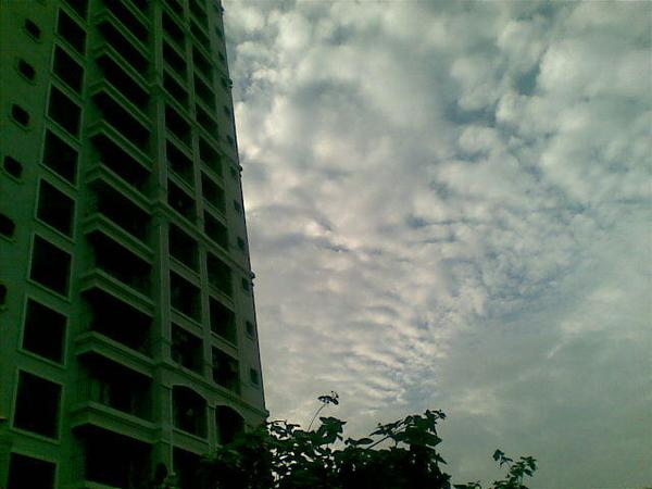 Overcast #mumbai #rain