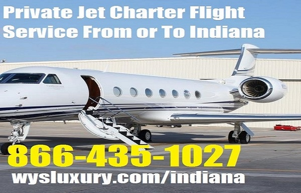Private Plane Jet Charter Flight Service To Indianapolis